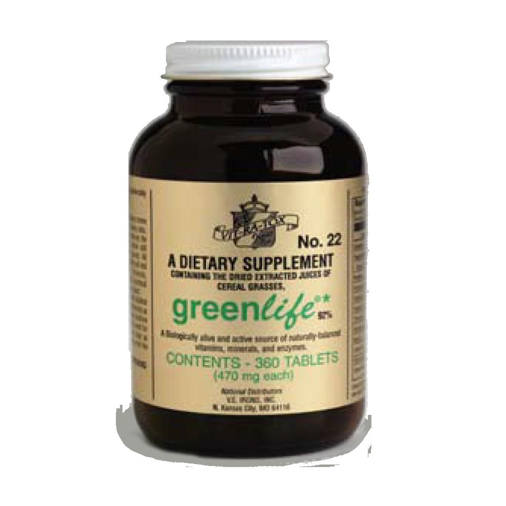 Bottle of #22 GreenLife