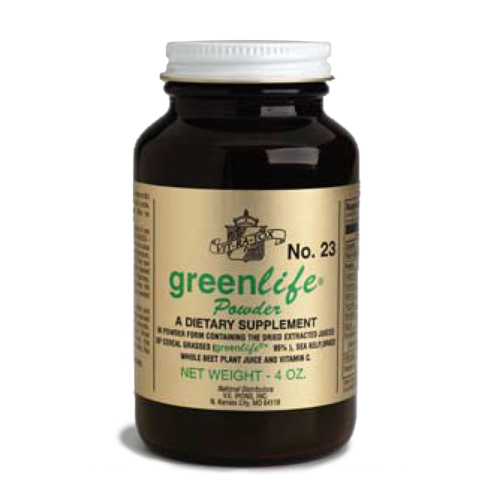 Bottle of #23 GreenLife Powder