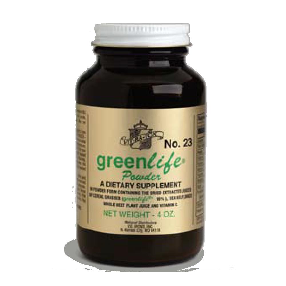 Bottle of #23 GreenLife Powder