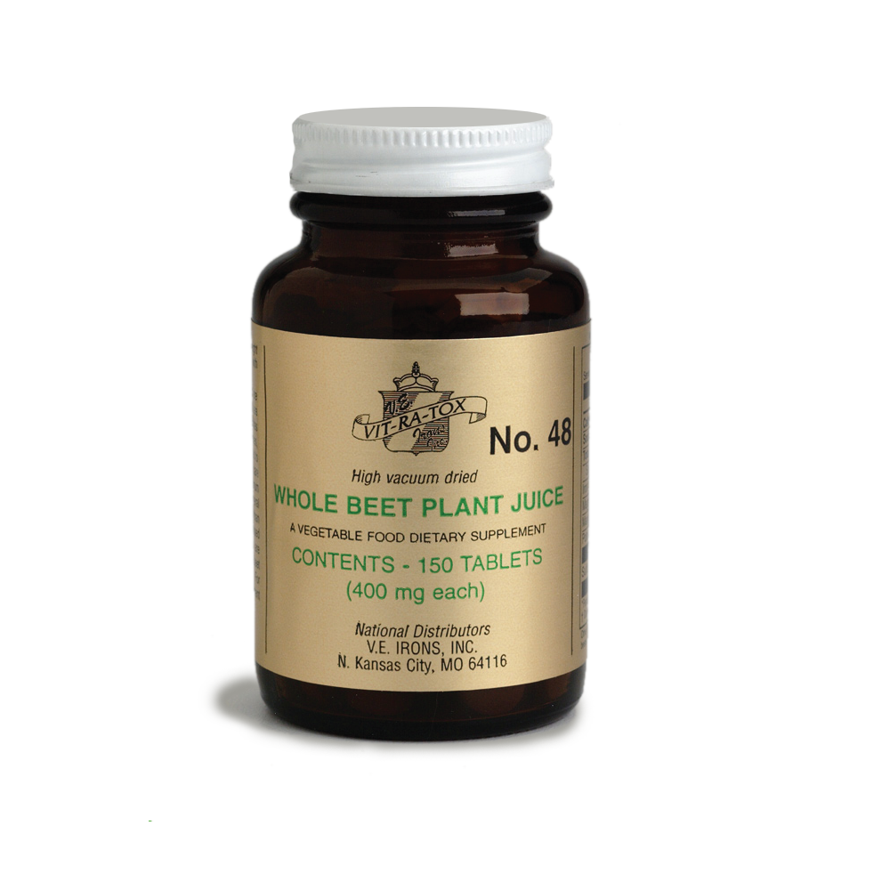 Image of Vit-Ra-Tox #48 Beet Plant Juice Tablets