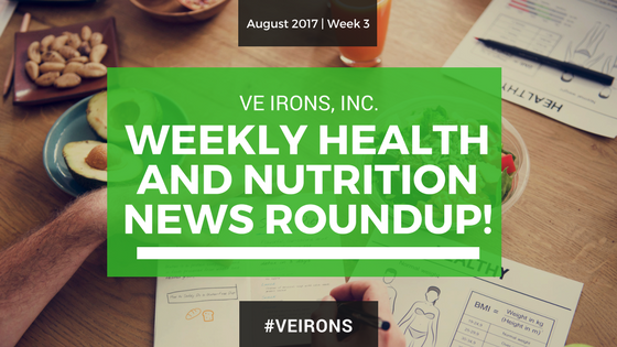 Weekly Health & Nutrition News Roundup