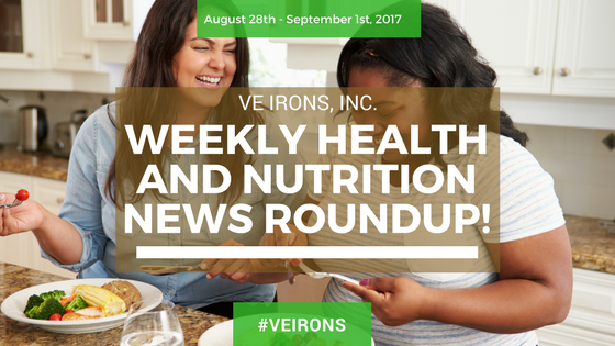Weekly Health And Nutrition News Roundup